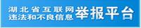 湖北省互联网违法和不良信息举报平台
